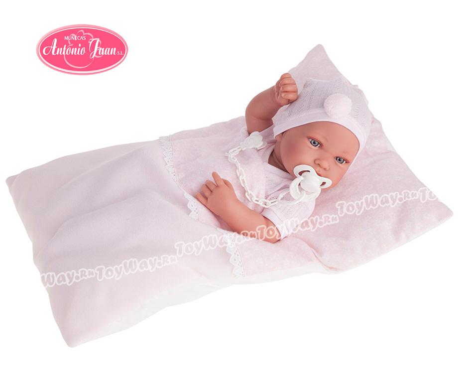 Кукла-младенец Пипа в розовом, 42 см. от Toyway