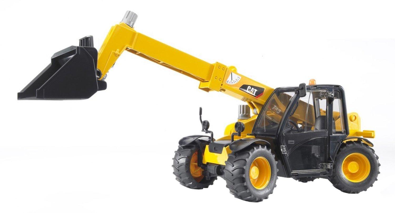 Погрузчик колёсный Cat Telehandler с телескопическим ковшом - Игрушки Bruder, артикул: 9151