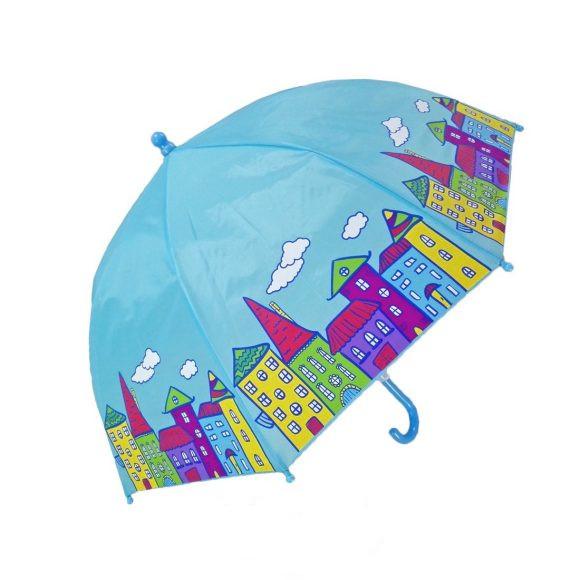 Зонт детский Домики, 46 смДетские зонты<br>Зонт детский Домики, 46 см<br>