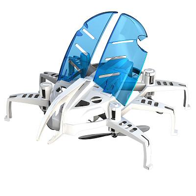 картинка Робот-трансформер – Летающий жук, белый от магазина Bebikam.ru