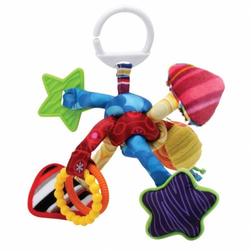 Подвесная игрушка – Активный узелокРазвивающая дуга. Игрушки на коляску и кроватку<br>Подвесная игрушка – Активный узелок<br>