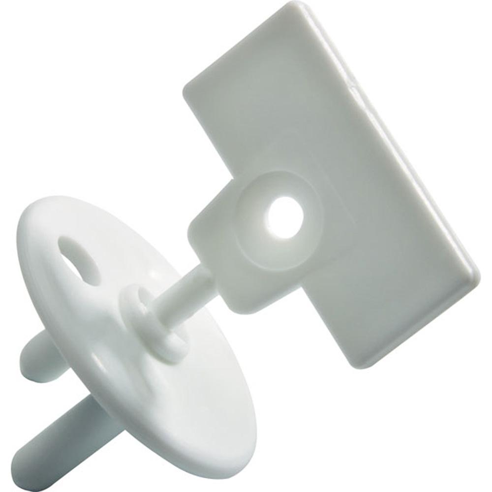 Защитная пластиковая вставка для электророзетки с отсоединяемым ключомБезопасность ребенка<br>Защитная пластиковая вставка для электророзетки с отсоединяемым ключом<br>