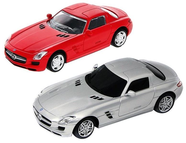 Купить со скидкой Металлическая машина Mercedes SLS, масштаб 1:43