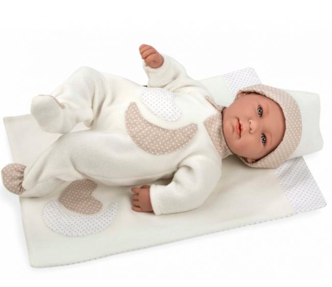 Купить Интерактивный пупс Elegance с белым одеялом, 45 см, Arias