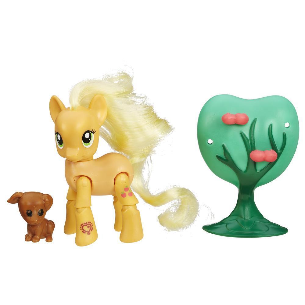 Мини-набор из серии My Little Pony - Эппл Джек с артикуляциейМоя маленькая пони (My Little Pony)<br>Мини-набор из серии My Little Pony - Эппл Джек с артикуляцией<br>