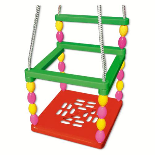 Качели детские подвесные, со спинкой - Качели, артикул: 136323