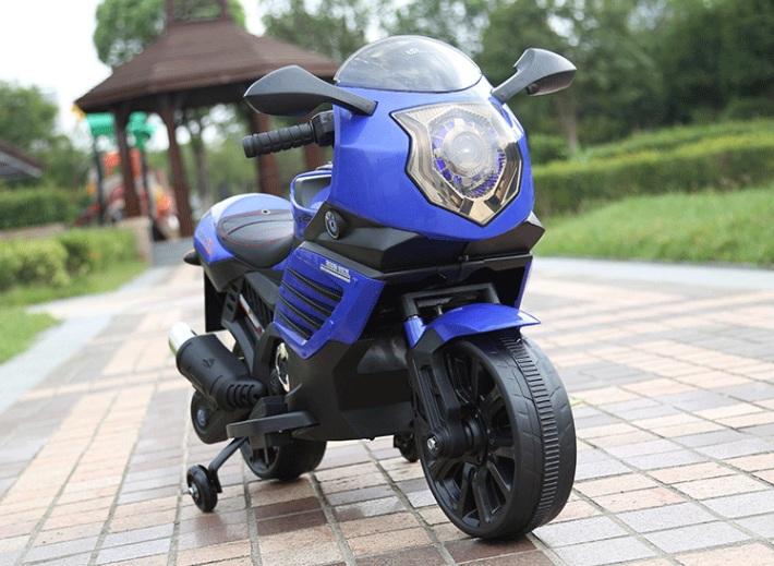 Купить Электромотоцикл ToyLand Moto Sport LQ168 синего цвета