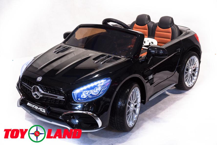Электромобиль Mercedes-Benz SL65, цвет – черный