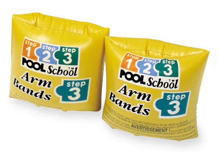 Нарукавники Pool School Step-3, цветные