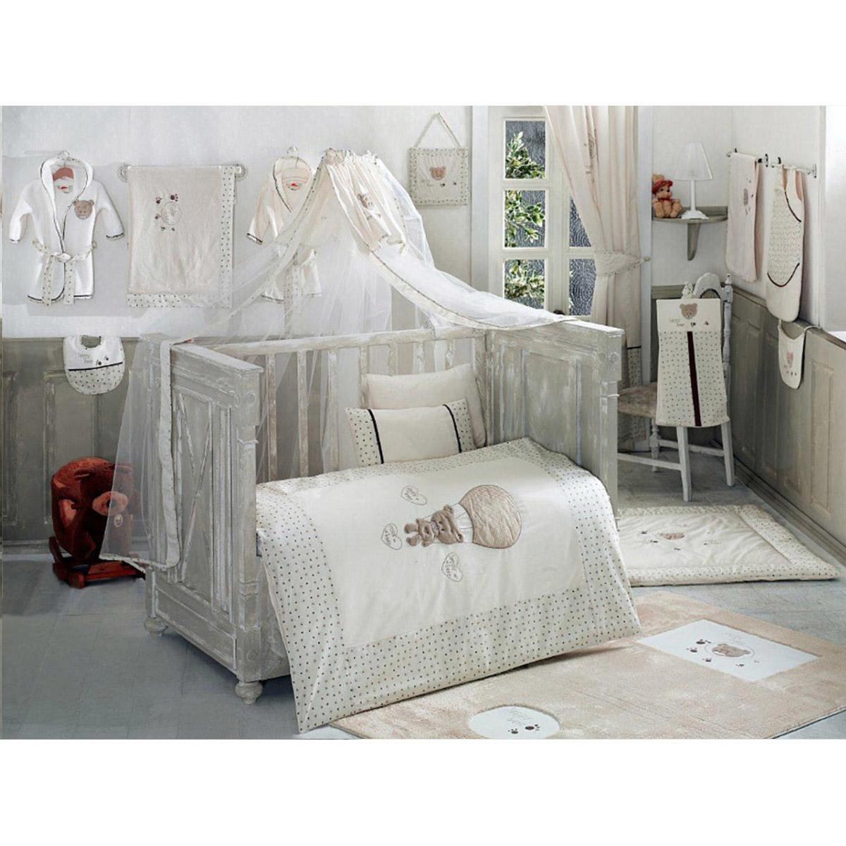 Балдахин серии Cute Bear 150 х 450 см, BeigeДетское постельное белье<br>Балдахин серии Cute Bear 150 х 450 см, Beige<br>