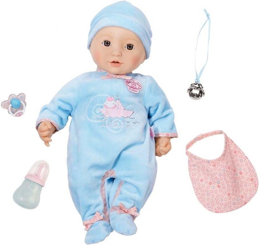 Многофункциональная кукла-мальчик Baby Annabell, 43 смКуклы-пупсы Baby Annabell<br>Многофункциональная кукла-мальчик Baby Annabell, 43 см<br>
