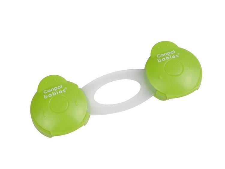 Блокатор многофункциональный, короткий 74/010 - 2 шт., зеленыйБезопасность ребенка<br>Блокатор многофункциональный, короткий 74/010 - 2 шт., зеленый<br>