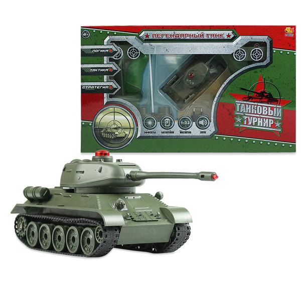 Танковый турнир р/у – Легендарный танк, с аксессуарами, 1:32, звуковые эффекты фото