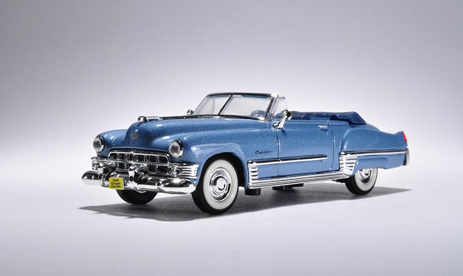 Купить Модель автомобиля 1949 года - Кадиллак Купе ДеВиль, 1/43, Yat Ming