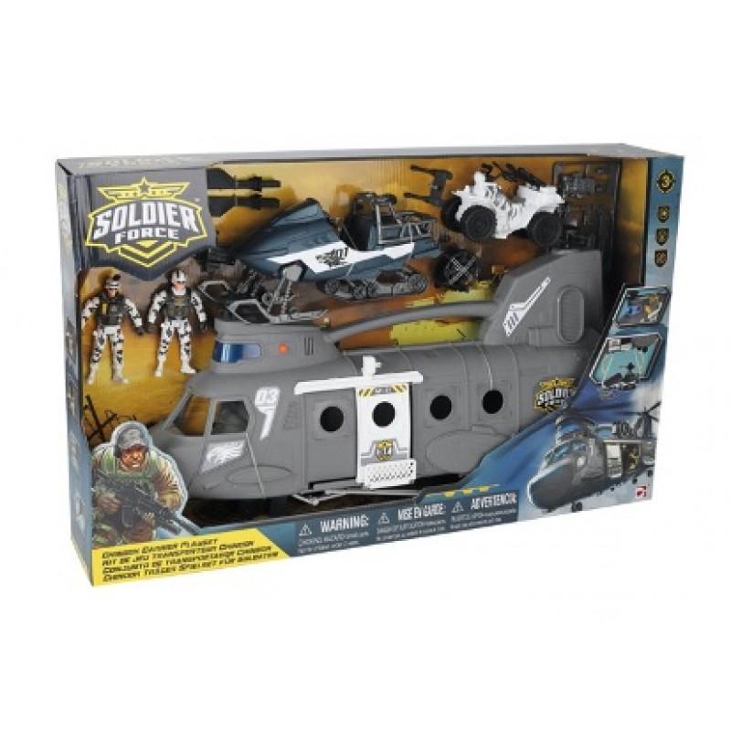 Купить Игровой набор - Десантный вертолет, Chap Mei