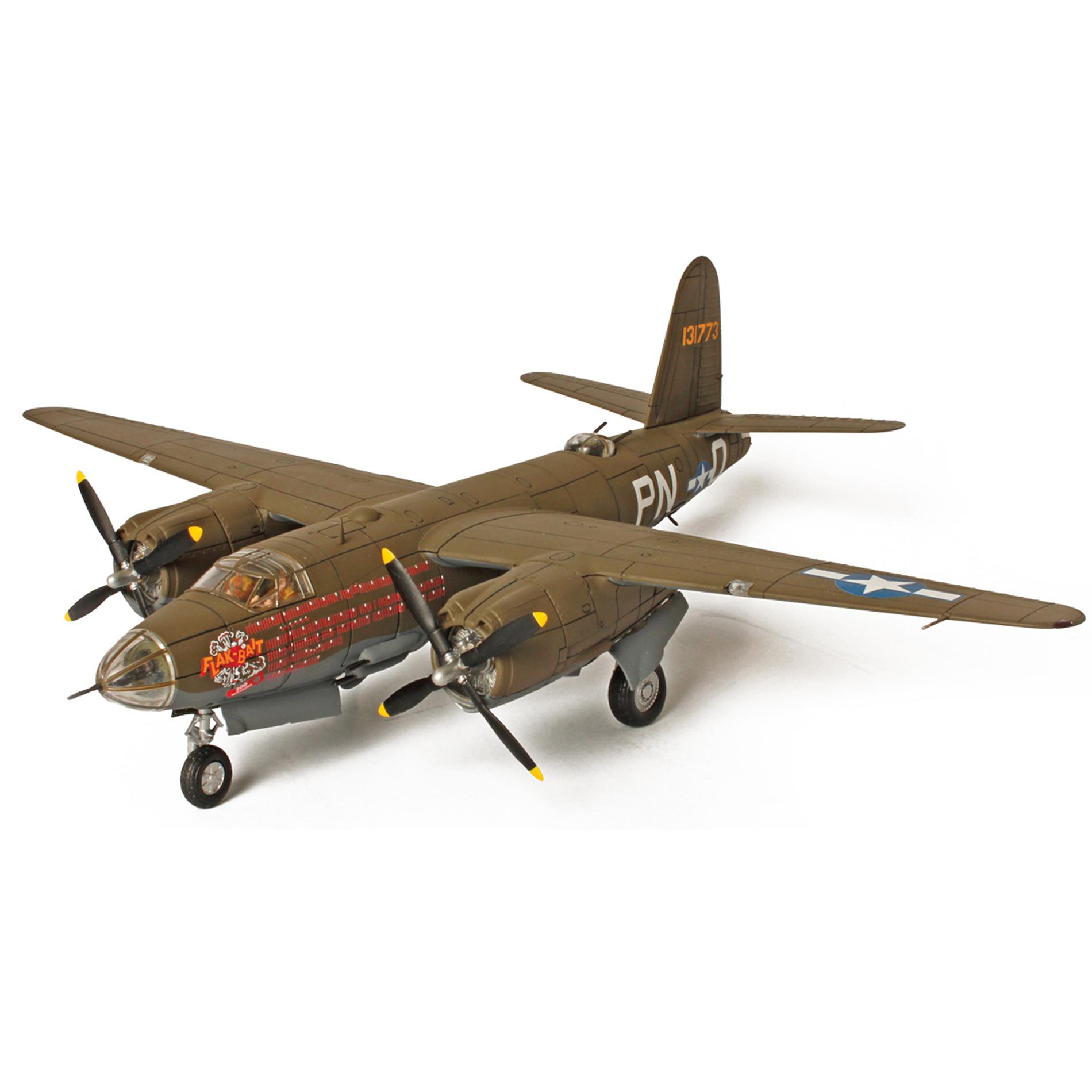Коллекционная модель - американский бомбардировщик B-26B Marauder, Бельгия, 1945 года, 1:72Коллекционные модели самолетов<br>Коллекционная модель - американский бомбардировщик B-26B Marauder, Бельгия, 1945 года, 1:72<br>