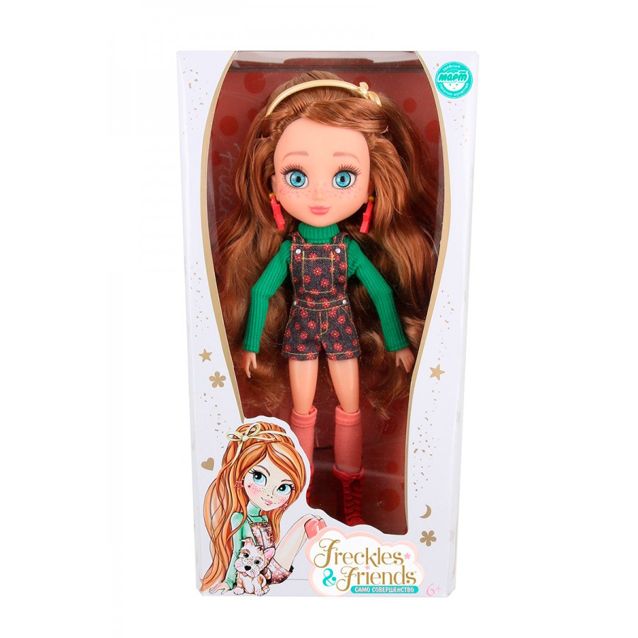 Кукла Подружка-веснушка – Флори, 27 см