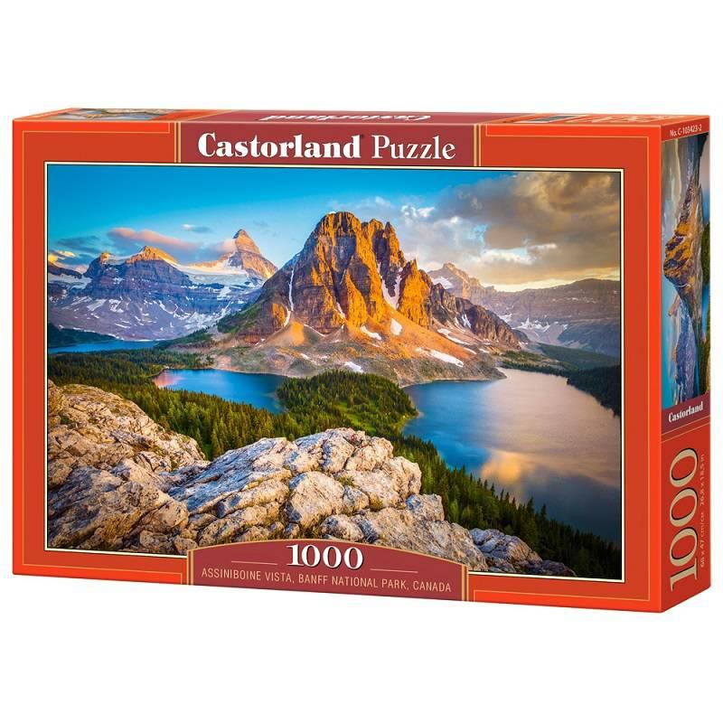 Пазл Castorland 1000 деталей, Национальный парк, КанадаПазлы<br>Пазл Castorland 1000 деталей, Национальный парк, Канада<br>