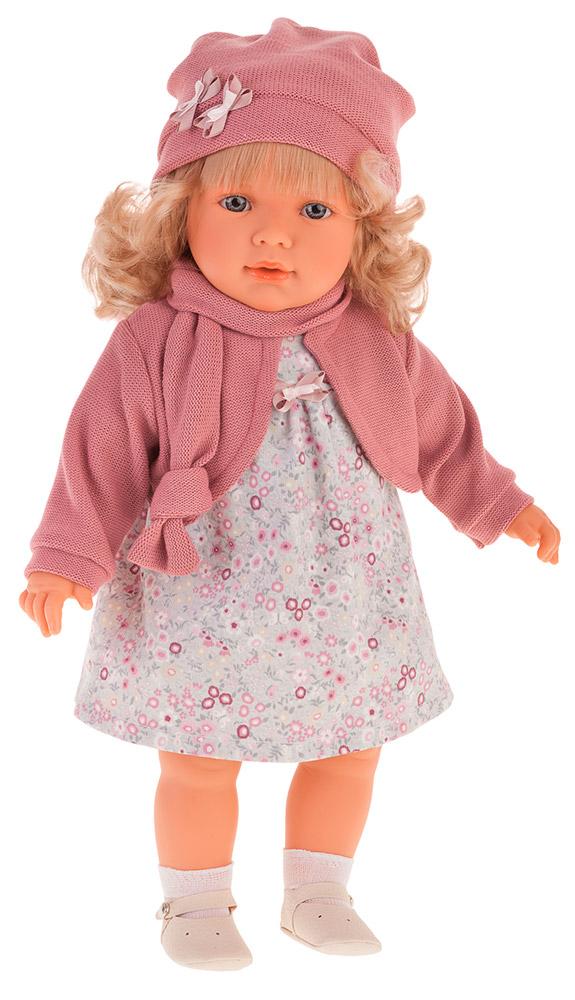 Кукла Абрил в розовом, 55 см фото