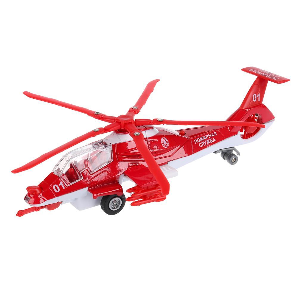 Купить Инерционный вертолет Пожарная служба, свет, звук, Технопарк