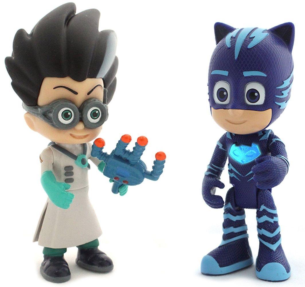 Игровой набор фигурок: Кэтбой со светом и РомеоГерои в масках PJ Masks<br>Игровой набор фигурок: Кэтбой со светом и Ромео<br>