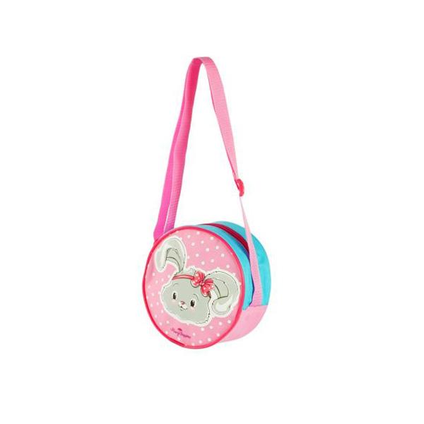 Сумочка с регулируемым ремнем – Зайка,17 см.Детские сумочки<br>Сумочка с регулируемым ремнем – Зайка,17 см.<br>