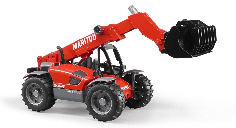 Купить Погрузчик колесный Bruder Manitou MLT 633 с телескопическим ковшом