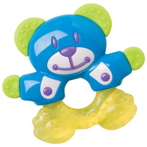 Игрушка прорезыватель с водой - МишкаДетские погремушки и подвесные игрушки на кроватку<br>Игрушка прорезыватель с водой - Мишка<br>