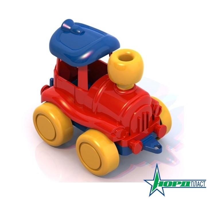 Паровозик НордикЖелезная дорога для малышей<br>Паровозик Нордик<br>