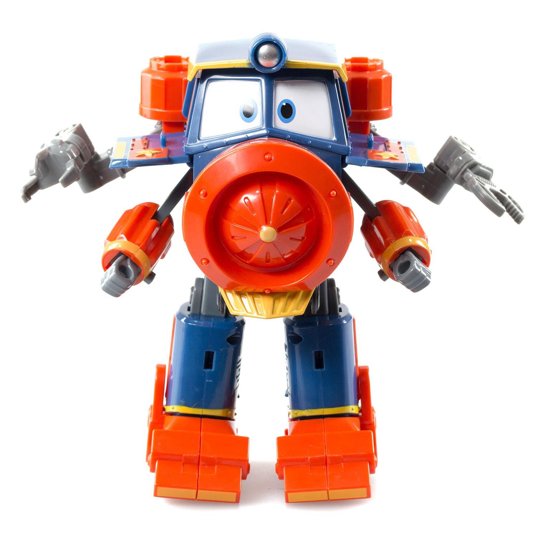 Robot Trains. Трансформер Виктор делюкс из серии Роботы-поезда