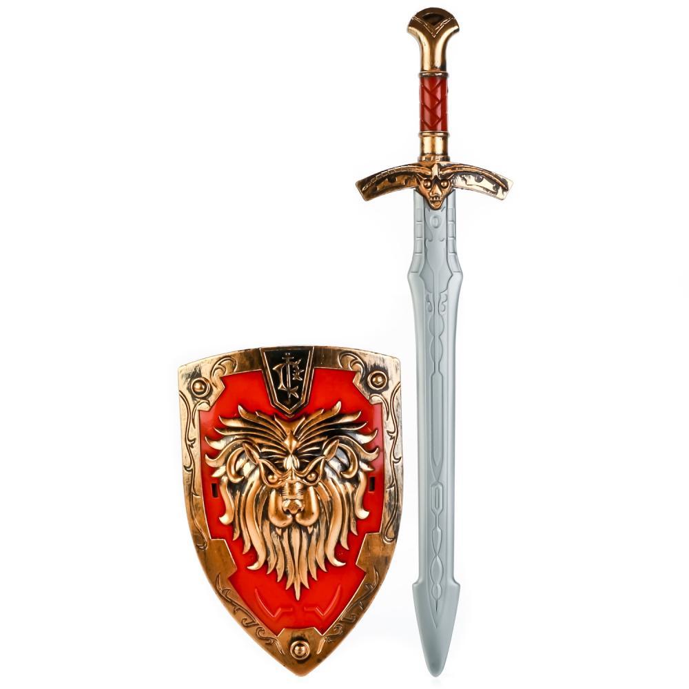 Купить Набор оружия - Три богатыря, щит и меч, Играем вместе