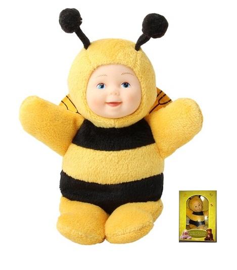 Кукла из серии «Детки-пчелки», 15 смКуклы детки ANNE GEDDES<br>Кукла из серии «Детки-пчелки», 15 см<br>