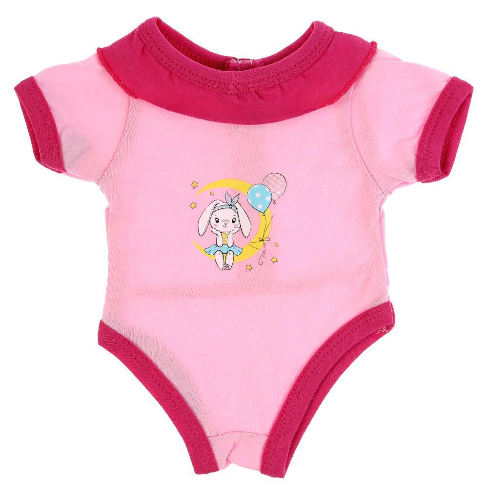 Купить Одежда для кукол 40-42 см - Боди Зайчонок, Карапуз