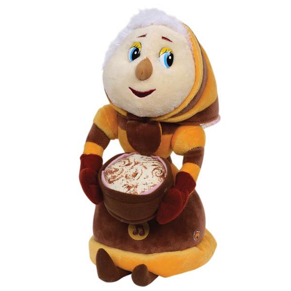Озвученная мягкая игрушка  Баба Капа - Говорящие игрушки, артикул: 168406