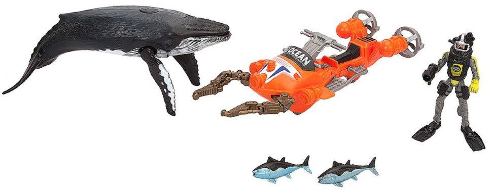 Игровой набор: Акванавт на скутере, 2 фигурыРоботы, Воины<br>Игровой набор: Акванавт на скутере, 2 фигуры<br>