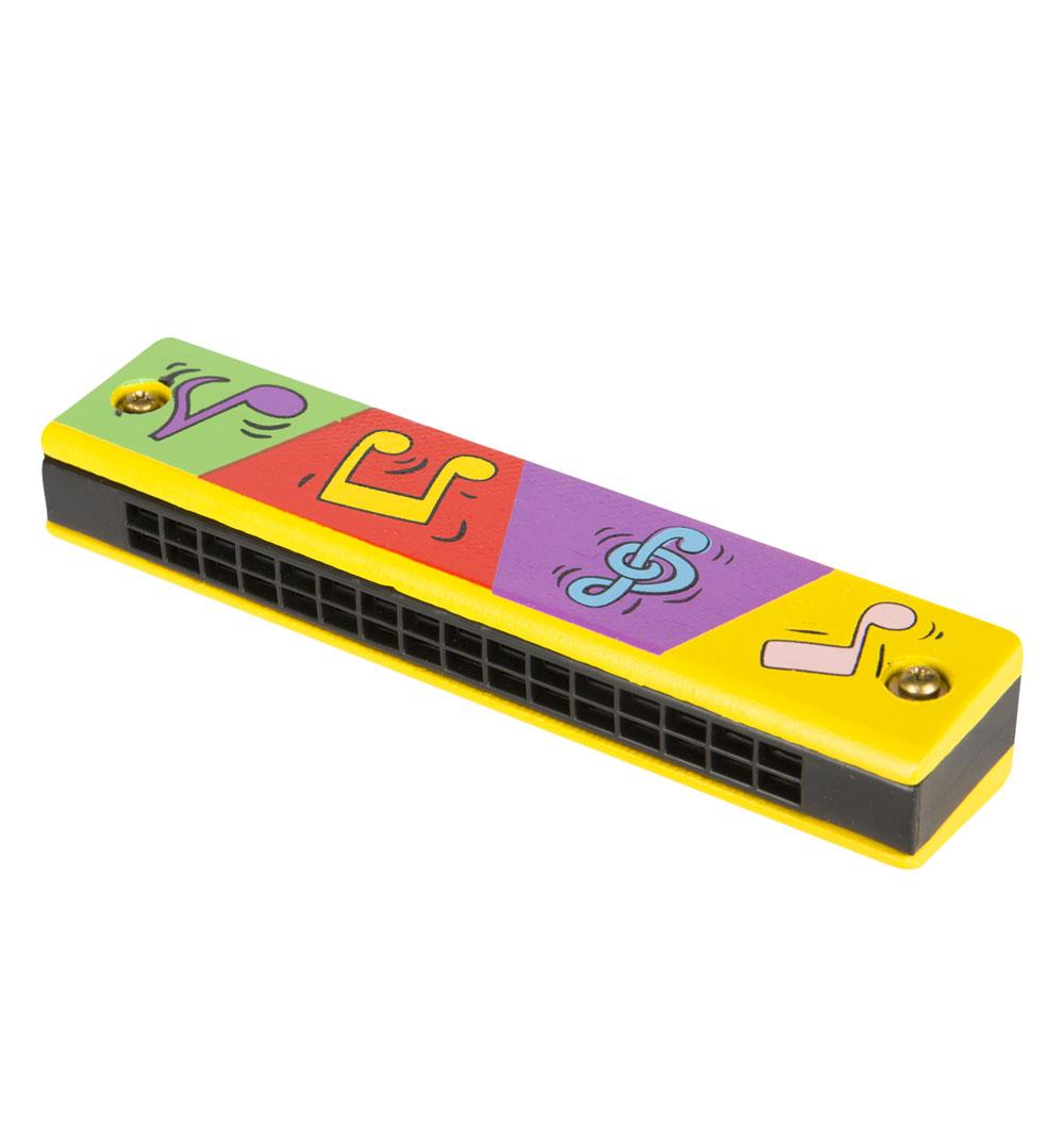 Деревянная игрушка - Гармошка губнаяМузыкальные инструменты из дерева<br>Деревянная игрушка - Гармошка губная<br>