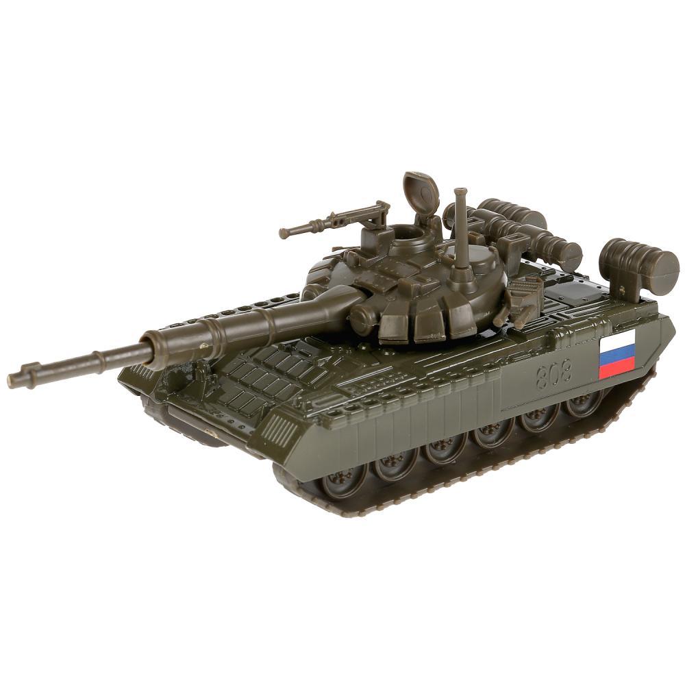 Купить Металлический инерционный Танк T-90, 12 см, Технопарк