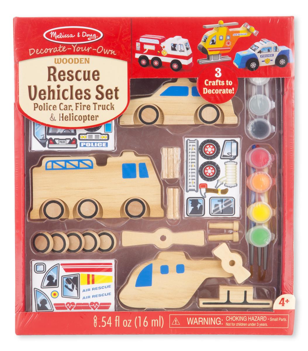 Набор автомобилей - Спасатели из серии ТворчествоНаборы для рисования<br>Набор автомобилей - Спасатели из серии Творчество<br>