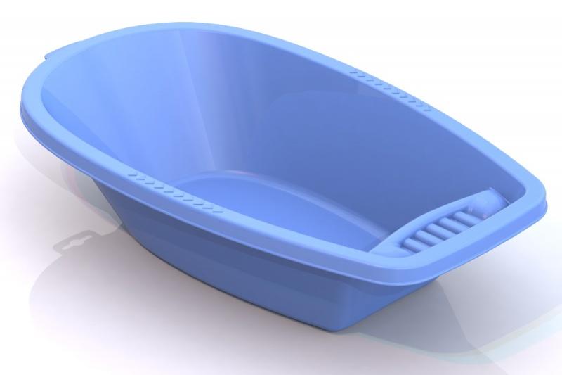Малая ванна для кукол, голубая, 41 смНаборы для кормления и купания пупса<br>Малая ванна для кукол, голубая, 41 см<br>