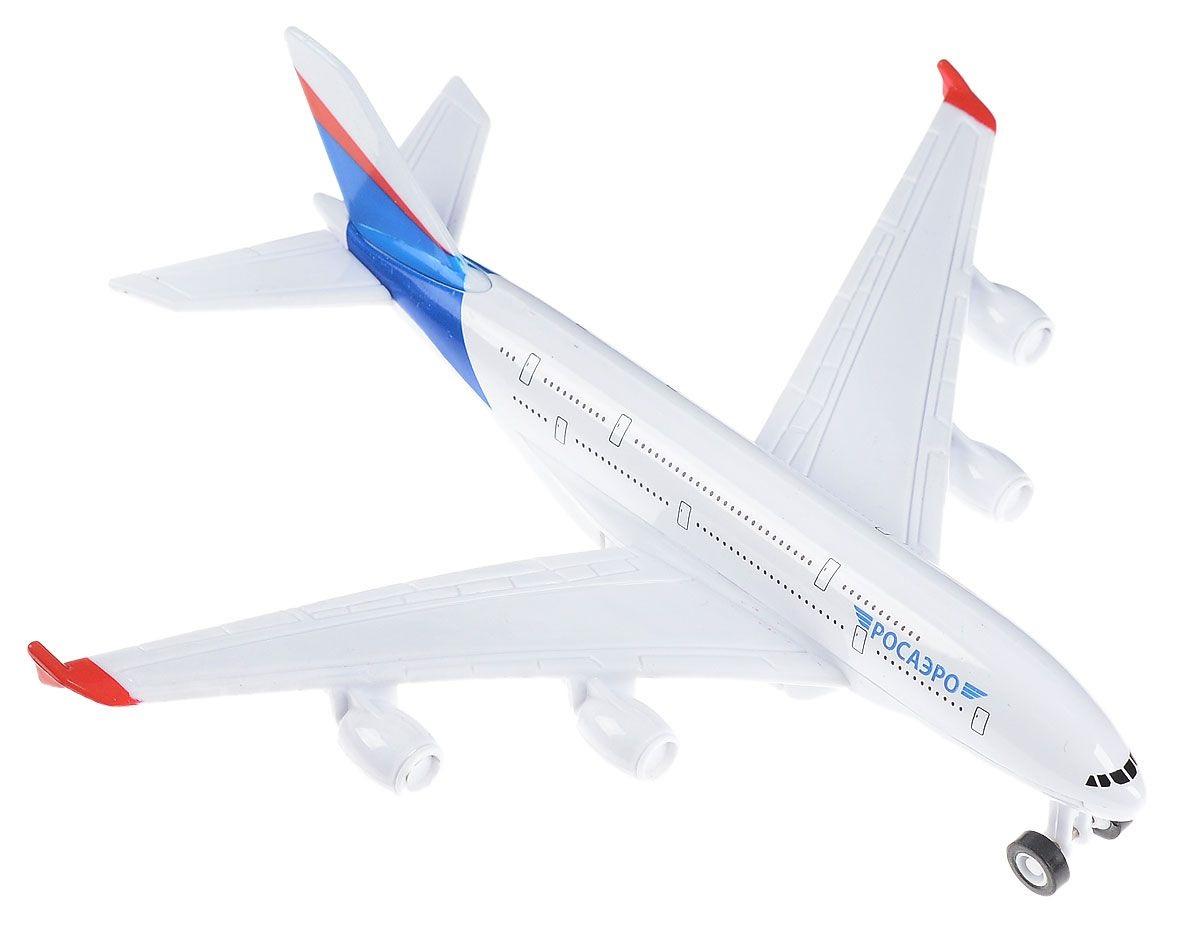 Купить Металлический инерционный самолет, Технопарк