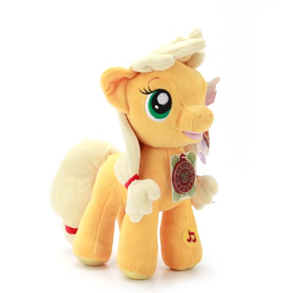 Мягкая игрушка Пони Эпплджек из мультфильма My Little Pony, свет и звукМоя маленькая пони (My Little Pony)<br>Мягкая игрушка Пони Эпплджек из мультфильма My Little Pony, свет и звук<br>