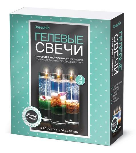 Купить Свечи гелевые Josephin – Набор №4 с ракушками, Фантазёр