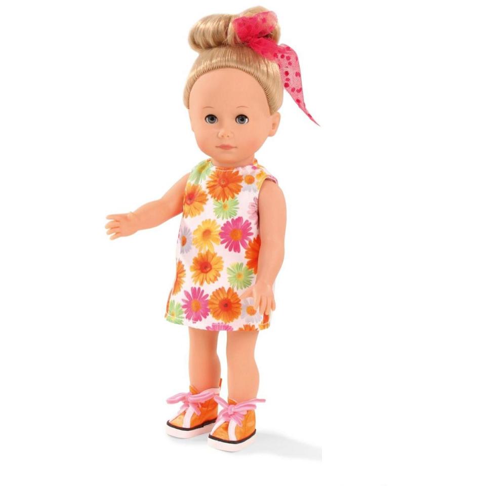 Кукла Миа блондинка с голубыми глазамиКуклы Gotz (Гетц)<br>Кукла Миа блондинка с голубыми глазами<br>
