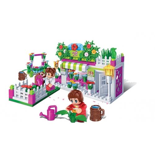 Развивающий конструктор - Цветочный магазинКонструкторы BANBAO<br>Развивающий конструктор - Цветочный магазин<br>