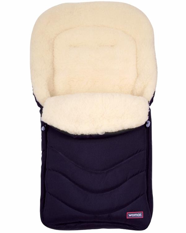Спальный мешок в коляску №12 - Black Frost, гранатовыйЗимние конверты<br>Спальный мешок в коляску №12 - Black Frost, гранатовый<br>
