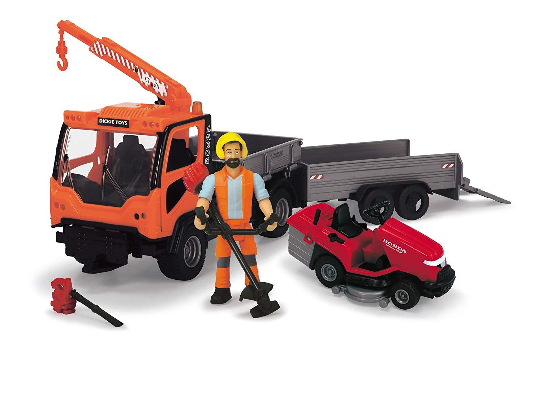 Купить Большой набор городского садовника из серии Playlife, свет и звук, 7 предметов, 25 см., Dickie Toys