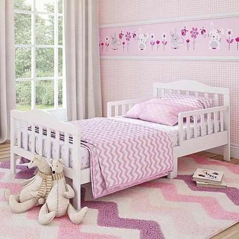 Кровать для дошкольников Candy размер 150 х 70 см, цвет - белыйДетские кровати и мягкая мебель<br>Кровать для дошкольников Candy размер 150 х 70 см, цвет - белый<br>