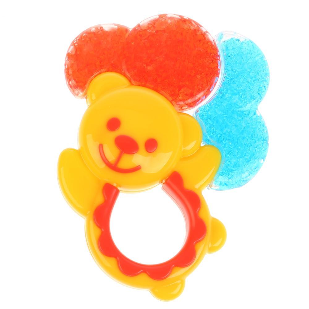 Прорезыватель - Мишка на шариках фото
