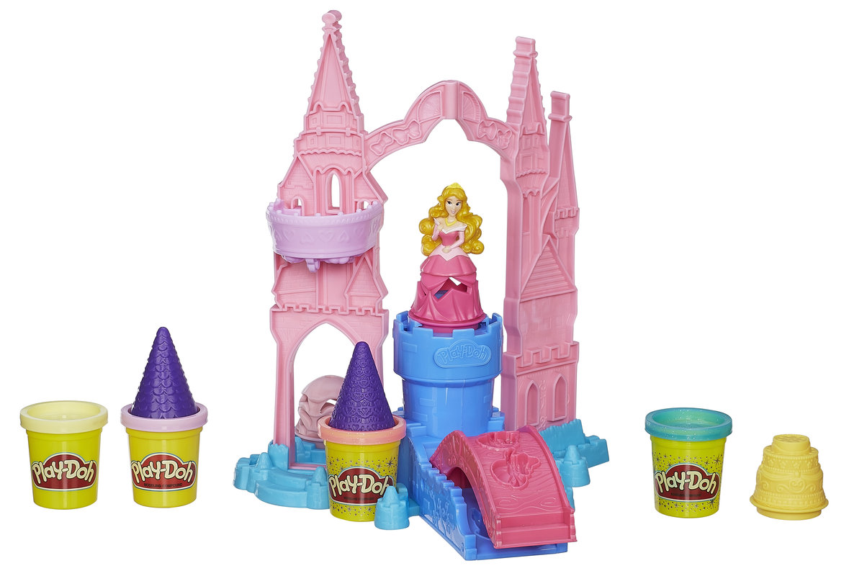 Play Doh пластилин. Чудесный замок Авроры