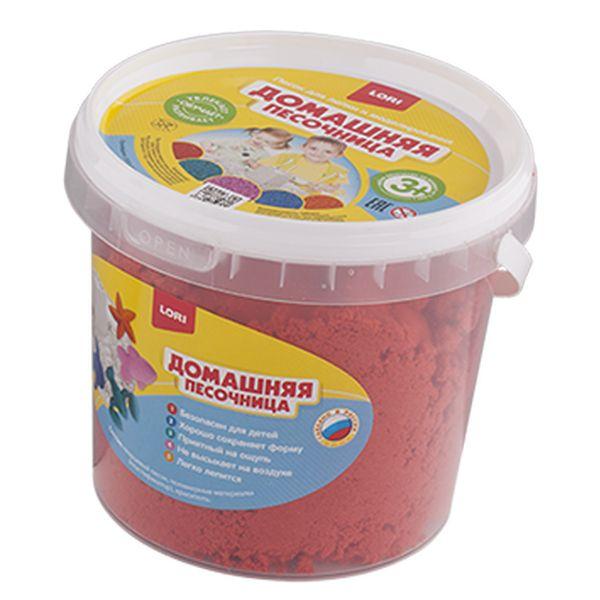 Песочница домашняя – Красный песок 1 кг., ЛОРИ  - купить со скидкой
